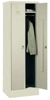 Металлические шкафы одежные сварные ШР